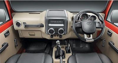 Mahindra Thar Daybreak Edition interior