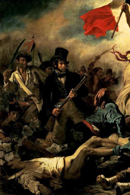 """Cardeal Pie: """"os golpes que as nações desferiram contra a Igreja se voltaram contra essas nações"""". Quadro alegórico da Comuna de Paris."""