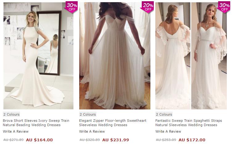 Inspiração de Vestidos de Noiva e Madrinhas