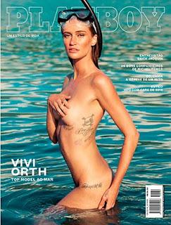 Fotos de Viviane Orth nua Playboy Maio 2016