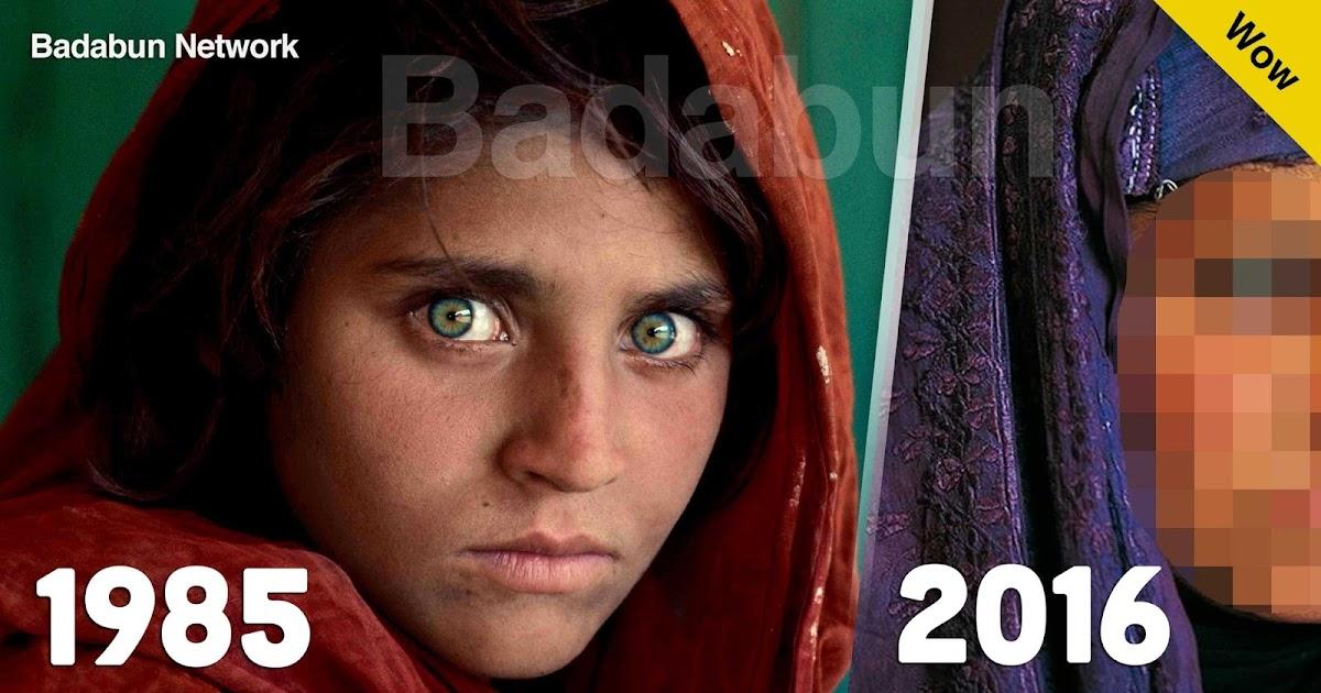 muchacha afgana sharbat gula afganistan guerra refugiados matrimonio arreglado