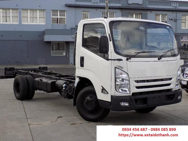 Xe tải IZ49 Đô Thành 2,5 tấn sắt xi model 2018
