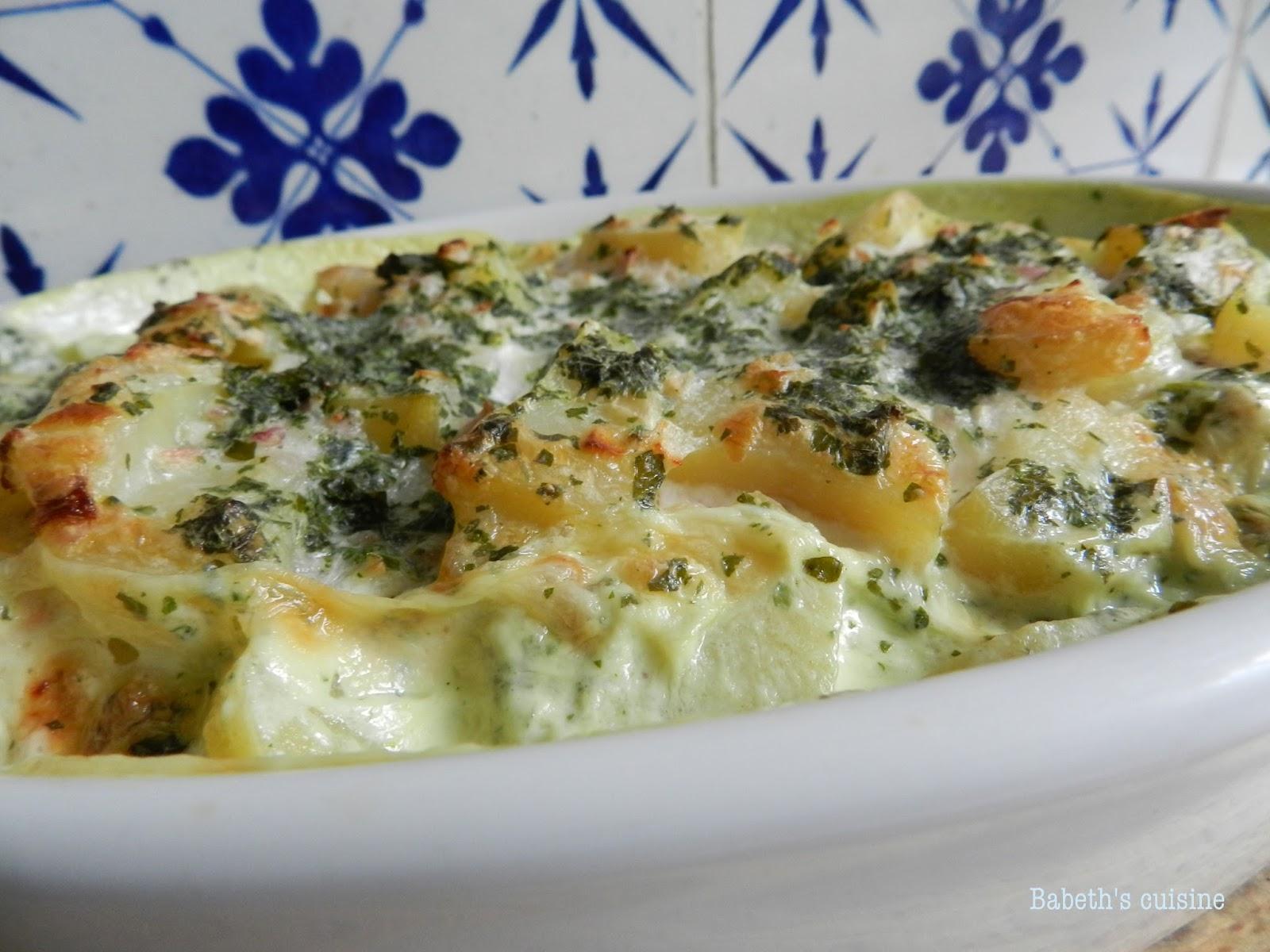 Babeth 39 s cuisine 2 recettes des patates des restes - Cuisiner du colin surgele ...