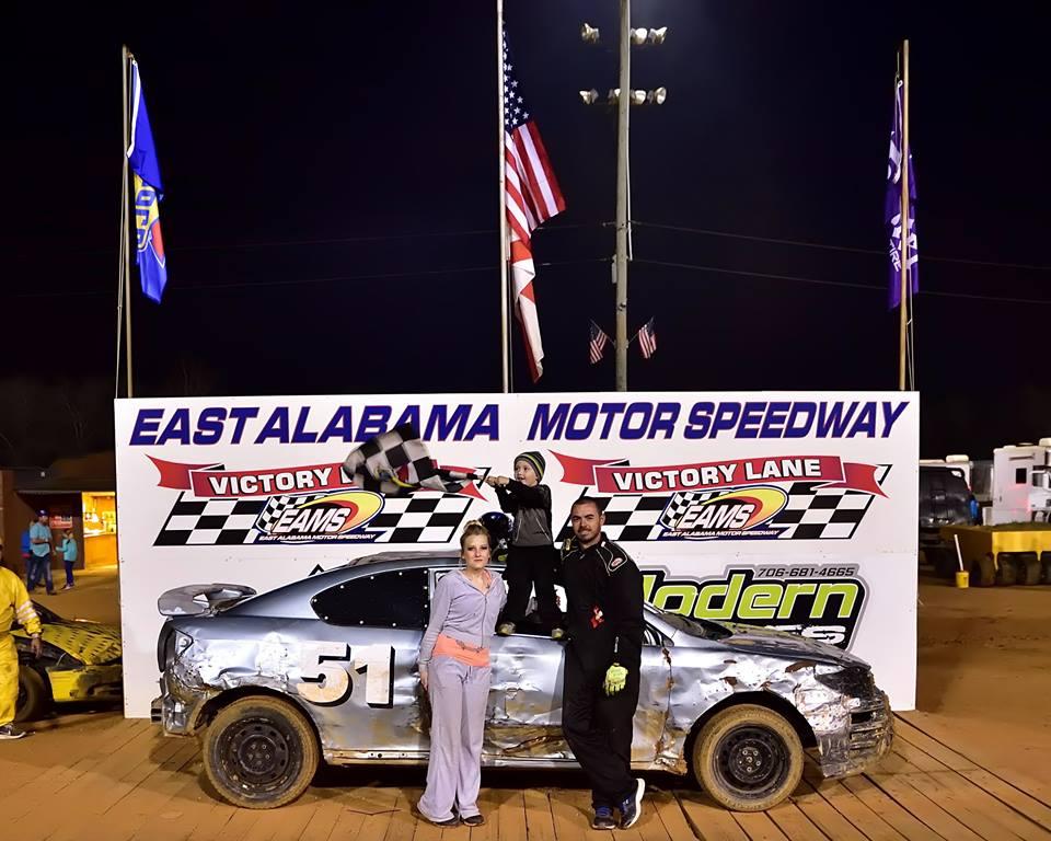 deep dixie racing east alabama motor speedway  recap