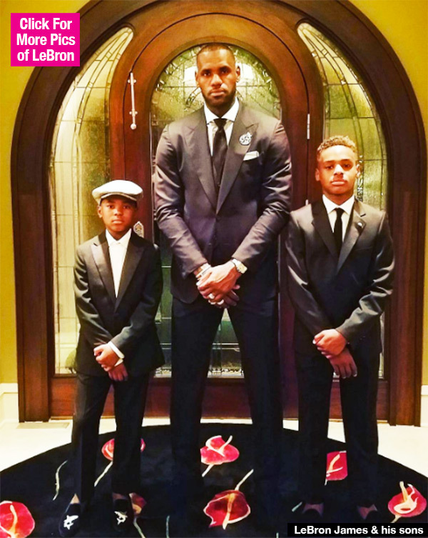 LeBron James Terrified His Sons Will Fall Into The Hands Of A Bad Cop