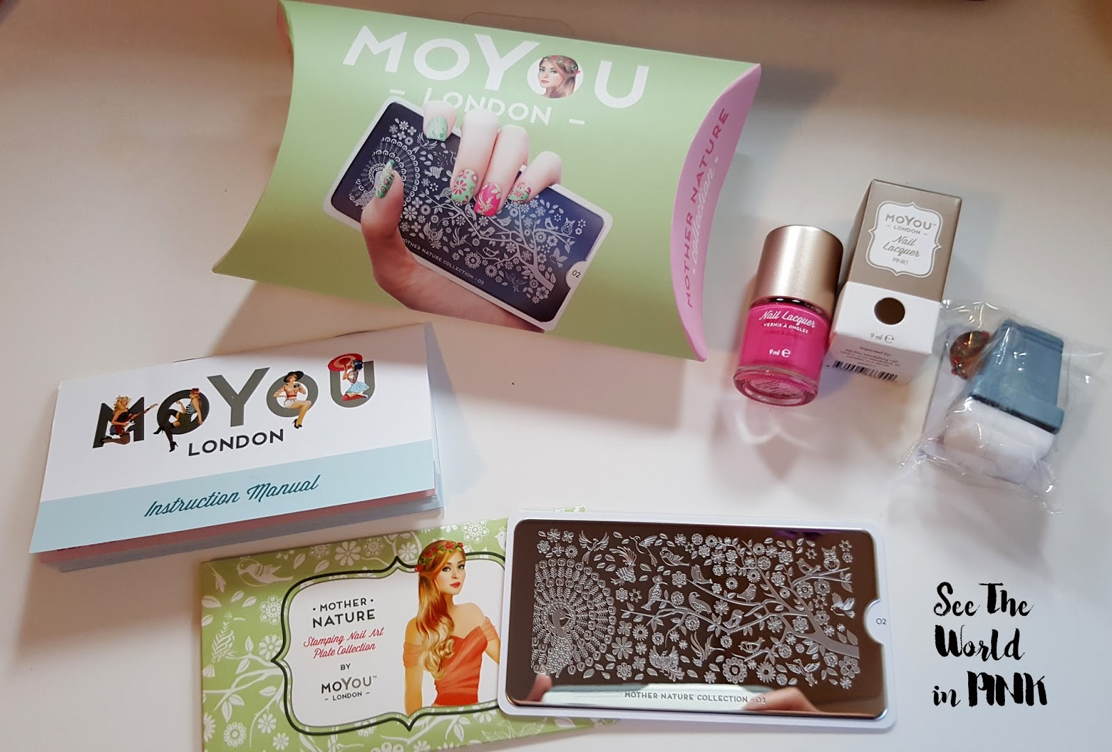 MoYou London Stamped Nails