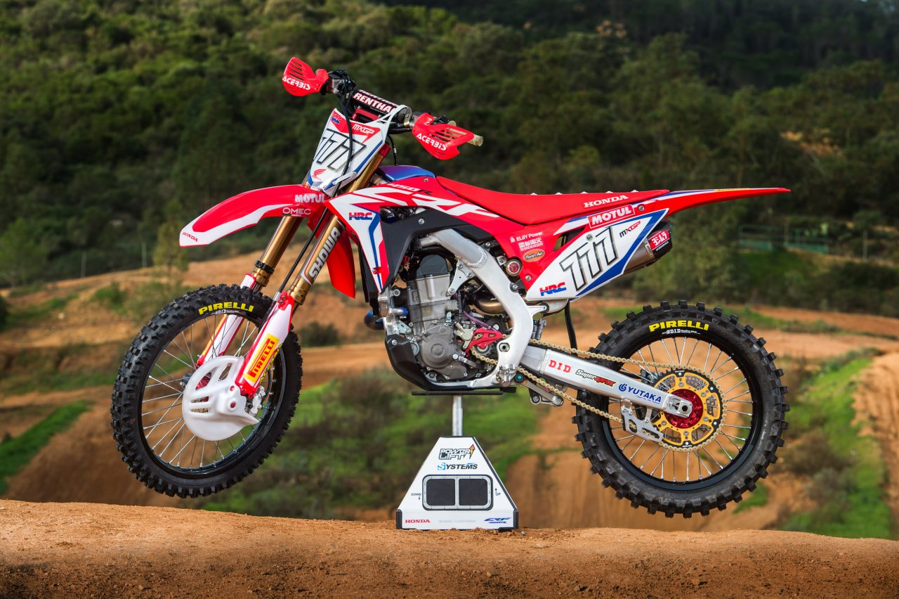 racing caf honda crf 450 rw team hrc 2017