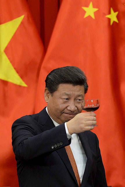 O presidente Xi Jinping está prelibando os benefícios que tirará da COP21