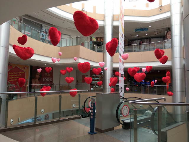 Valentine's day at Inorbit mall