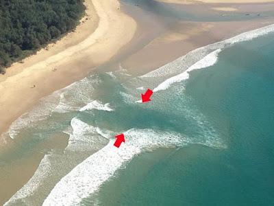 Dicas de segurança no mar: como evitar corrente de retorno
