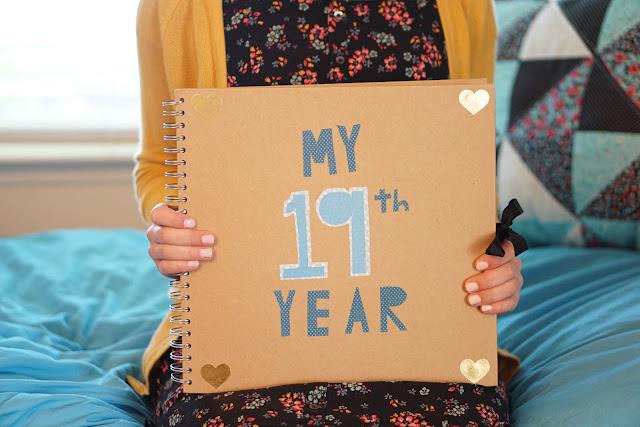 My 19th Year Scrapbook The Yellow Mailbox