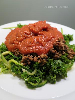 the NO-tomato sauce