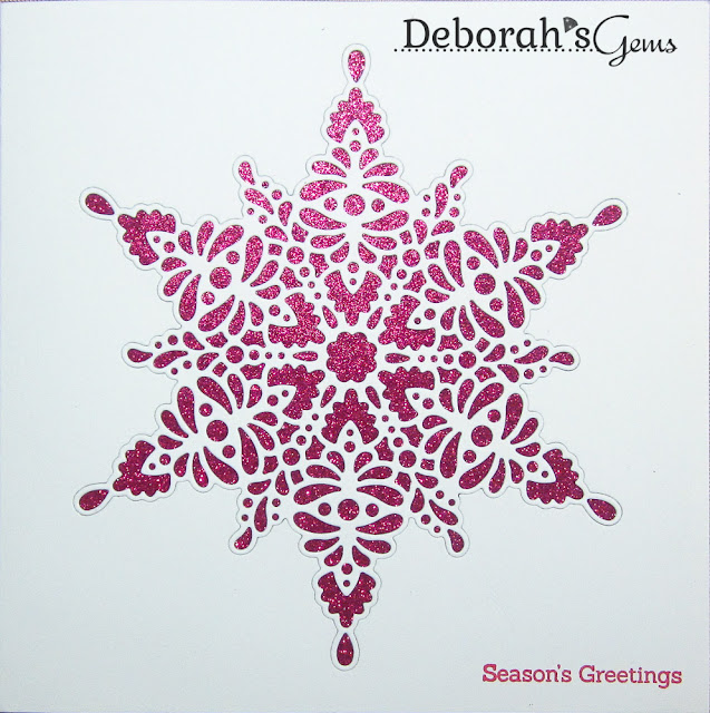 Snowflake Shimmer - photo by Deborah Frings - Deborah's Gems