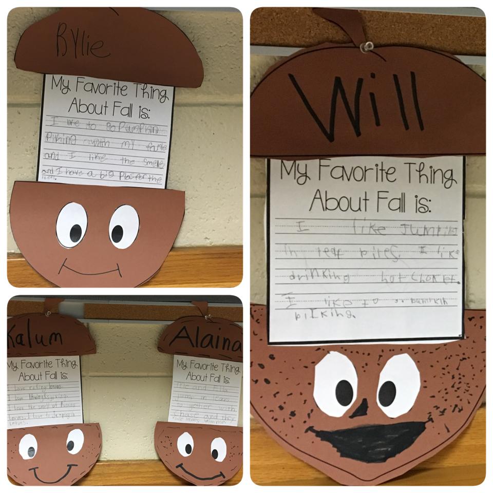 Fall Poem/Song for Preschool, Kindergarten, & First Grade