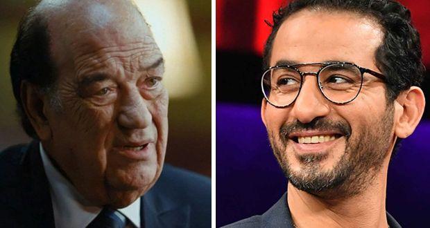 """أحمد حلمي يصف الفنان الكبير حسن حسني """"السند والظهرالقوي لأي فنان"""""""