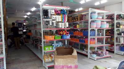 Hoàn thiện giá kệ để hàng cho nhiều siêu thị mini