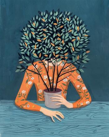 """Bay leaves"" - Helena Perez Garcia 