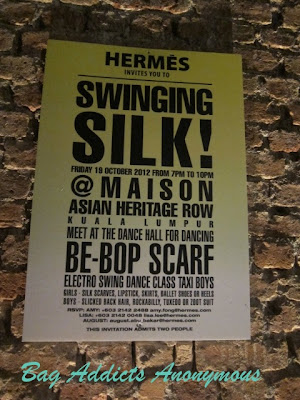 "Event Post: Hermès ""Swinging Silk"" VIP Party!"
