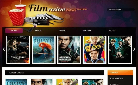 Film Reviews Blogger Template Blogger Templates Gallery