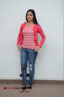 Telugu Actress Mouryani Latest Pos in Blue Denim Jeans  0220.JPG