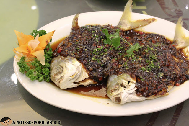 Steamed Pampano Chinese Cuisine - King Chef