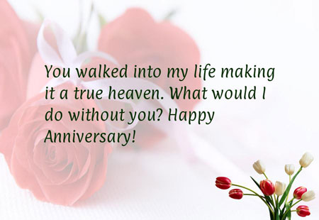 Short Wedding Anniversary Wishes for Sweet Wife