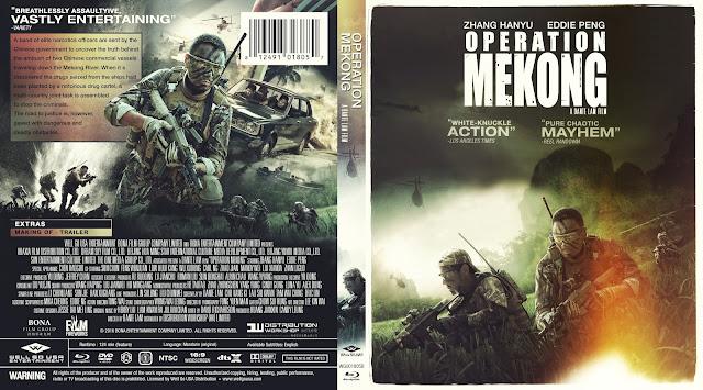 Operation Mekong (Mei Gong he xing dong) Bluray Cover