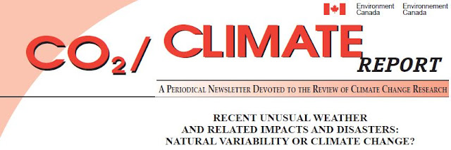 Environment and Climate Change Canada CO2 Climate Report