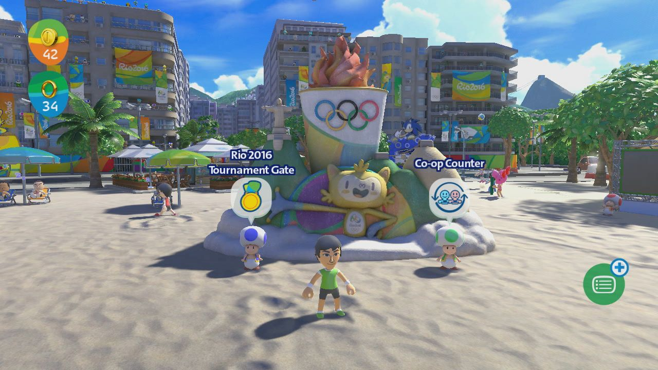 01aa2c618 Análise  Mario   Sonic at the Rio 2016 Olympic Games (Wii U ...