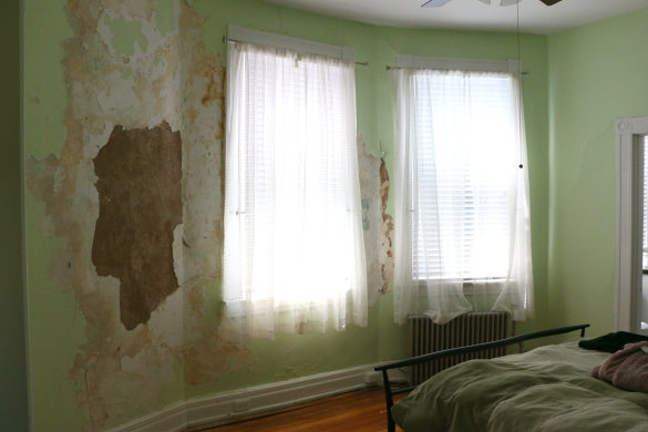 Restoring Plaster Walls Bringing Stephanie 39 S Room Back To Life 17 Apart
