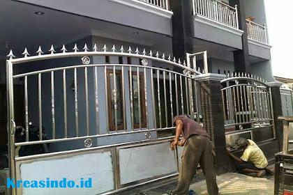 Jasa Pintu Pagar Stainless di Jakarta dan Seitarnya Harga Murah