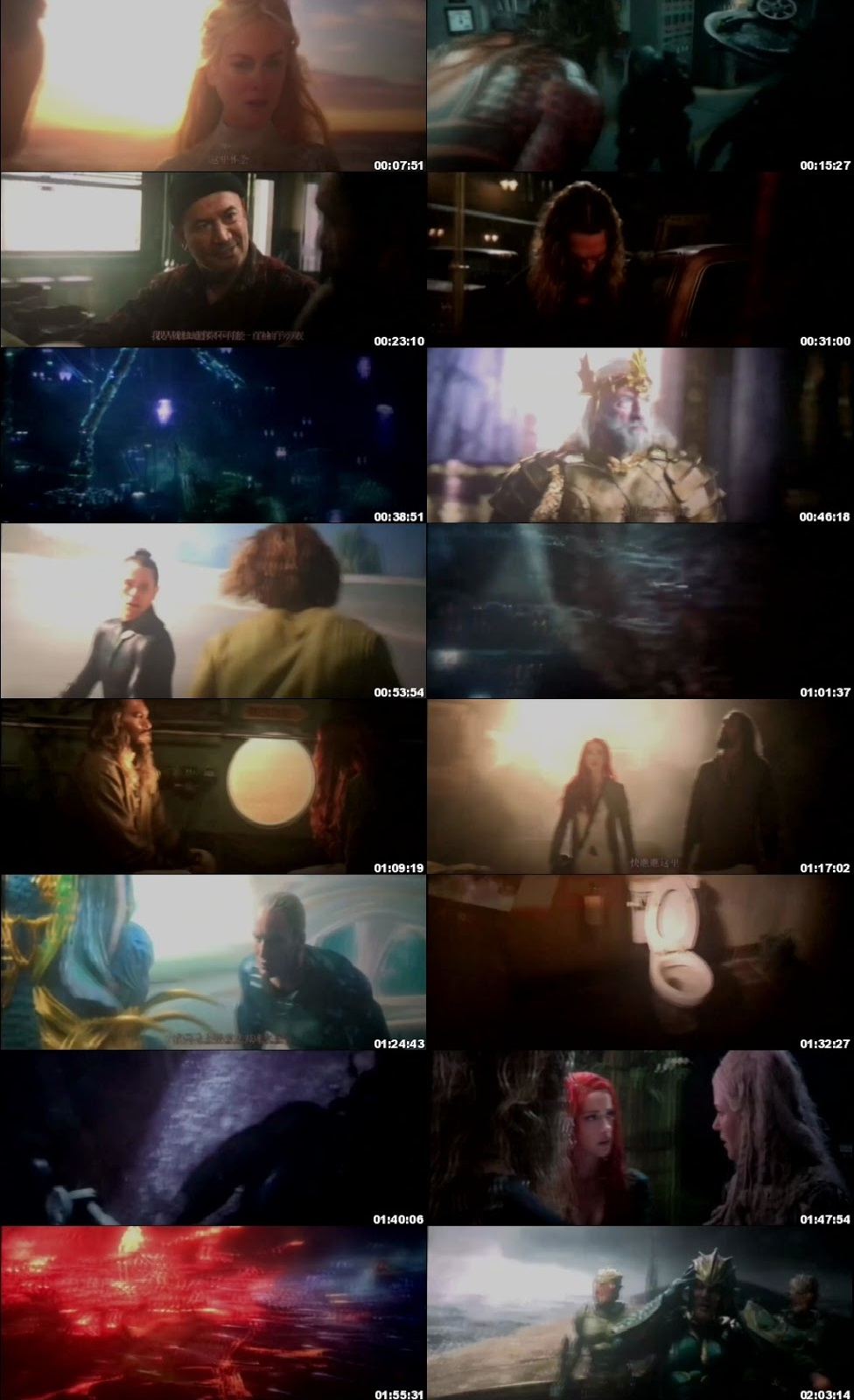 Aquaman Aquaman 2018 300MB Full Movie Hindi Dubbed Dual Audio HQ 480P
