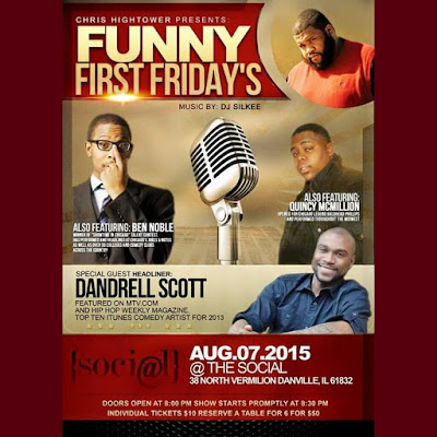 SHOW-TIME: Danville, IL (8/7/15)