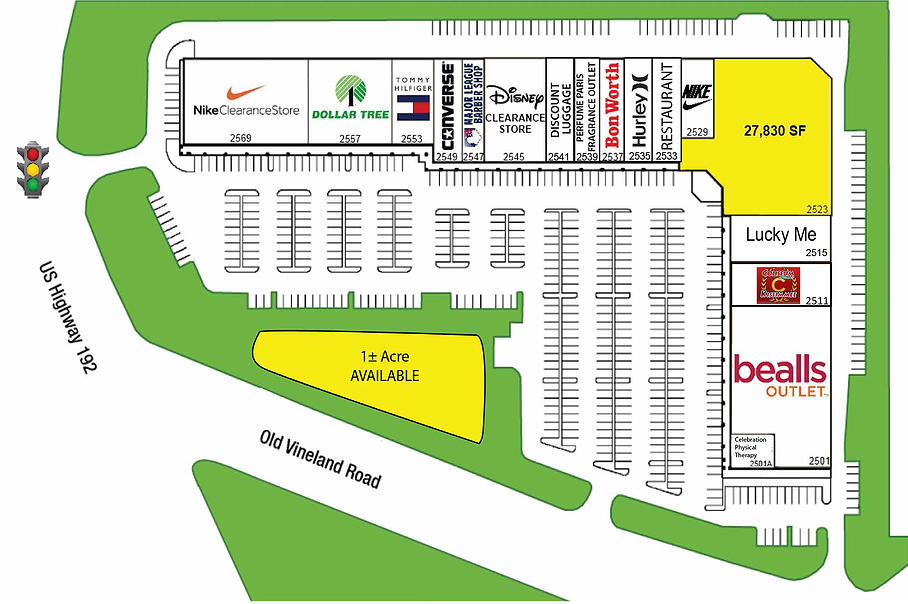 Mapa Clearance Center