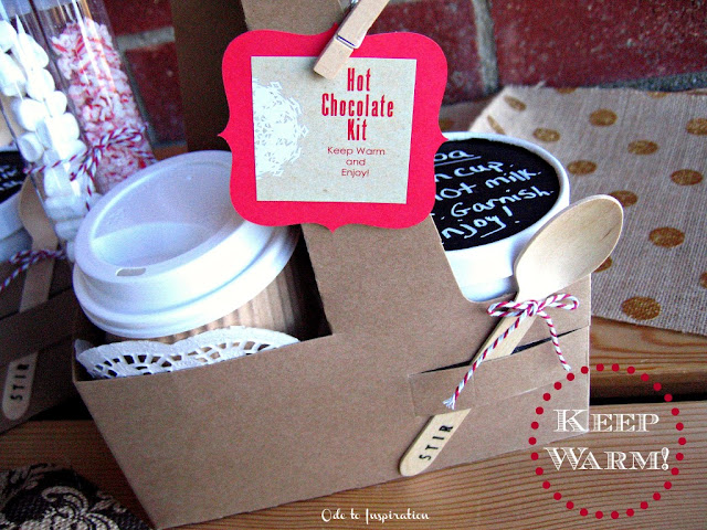 Hot Chocolate Kit Gift 7 Delicious Holiday-Inspired Drinks 23