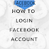Facebook Log In Sign Up