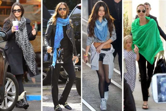 Latest Pashminas and Scarves Trend!