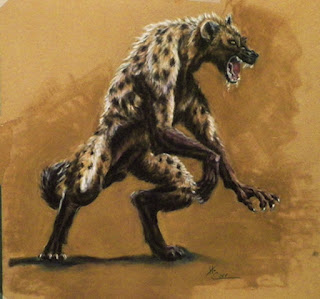 The werehyena!