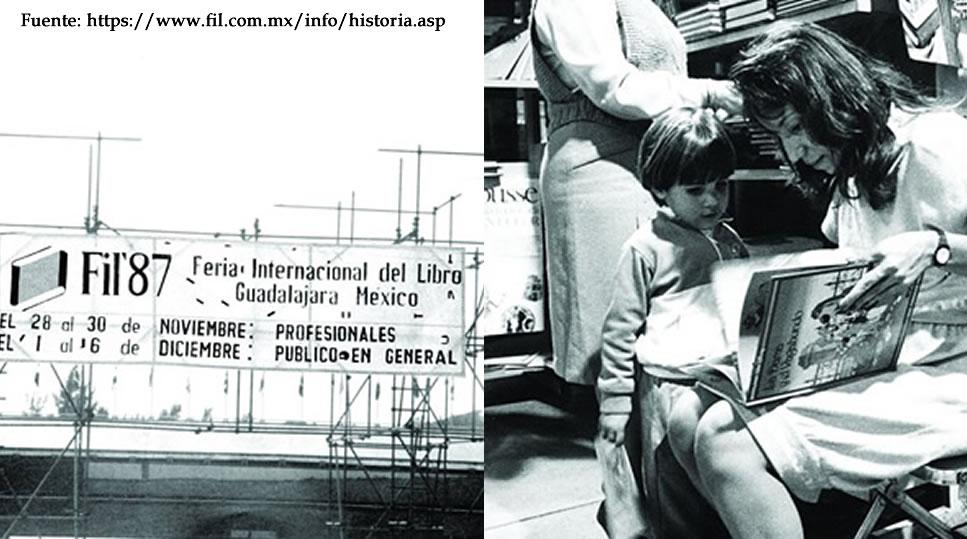 Primera presentación de la Feria Internacional Del Libro (1987)