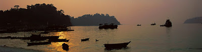Island hopping in the Andaman Sea