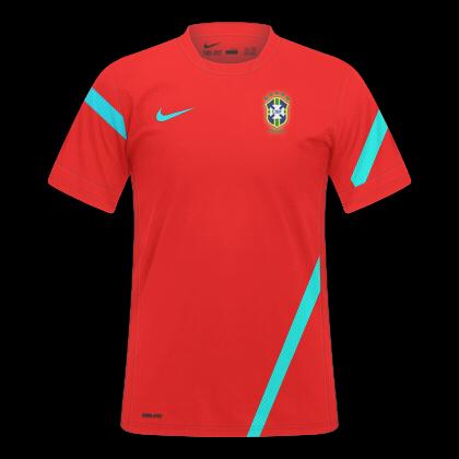 CP Mockups  Seleção Brasileira De Treino - Nike ad68cff35501f