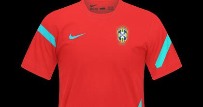 CP Mockups  Seleção Brasileira De Treino - Nike 83b4d225548a2