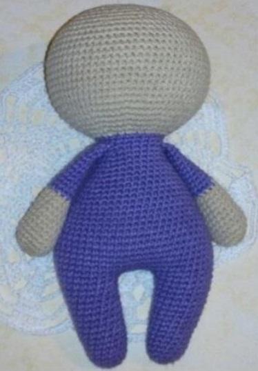 Free Crochet Patterns In English : Amigurumi Cupcake Baby-Free Pattern (English Version ...