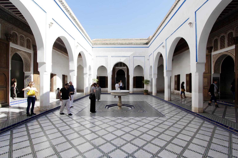 Patio del Palacio Bahía