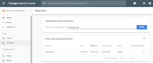 Cara Menambahkan Sitemap Blog ke Google Search Console