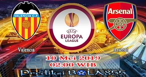 Prediksi Bola855 Valencia vs Arsenal 10 Mei 2019