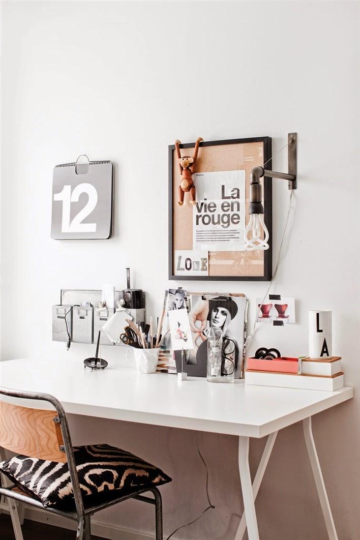 my scandinavian home a cool monochrome swedish home. Black Bedroom Furniture Sets. Home Design Ideas