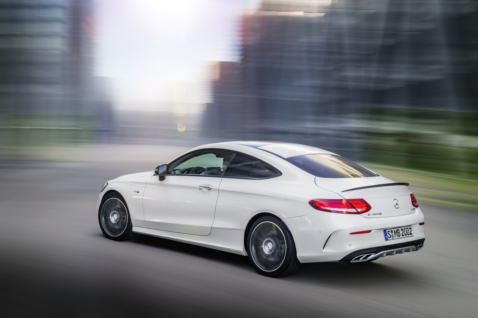 new mercedes amg c43 4matic coupe packs a 362hp v6 turbo. Black Bedroom Furniture Sets. Home Design Ideas