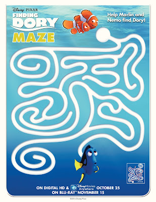 Finding Dory Activity Sheet - Maze
