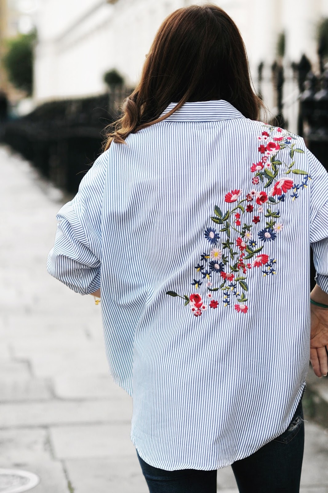styling a shirt embroidered autumn winter fashion style 2017